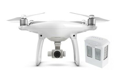 DJI Phantom 4 Quadcopter 4K Drone (DJI Refurbished) + 1 Additional Battery