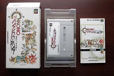 Super Famicom Sfc Chrono Trigger Boxed Japan Snes Game Us Seller
