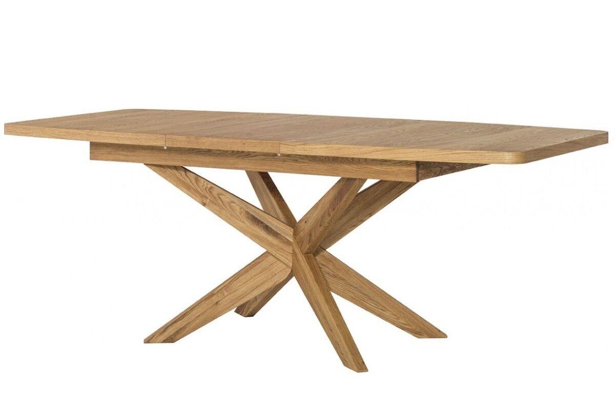 Esstisch Tisch ausziehbar VELLE Massivholz Eiche