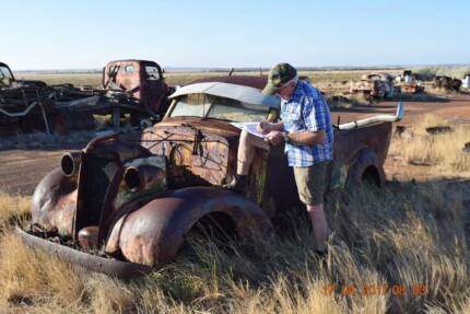 Vintage Collection of Motor Vehicles, Utes Trucks and Farm equip.