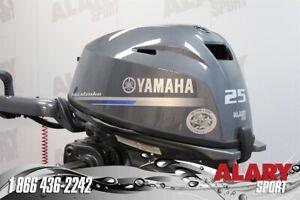 2019 Yamaha  Moteur hors-bord YAMAHA 25 HP DEM. ELEC.