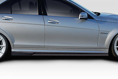 08-14 Mercedes C Class 4DR AF-1 Aero Function Side Skirts Body Kit!!! 115236