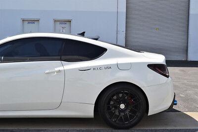 Coupe Rear Window Spoiler - HIC USA 2008 to 2016 Genesis Coupe rear roof window visor spoiler brand new