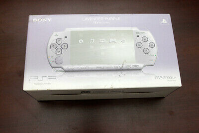 PSP-2000 console purple boxed Japan PlayStation Portable system US seller