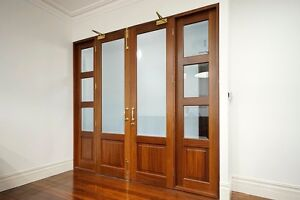 Doors - Character Heritage Jarrah + Bevelled Glass Nedlands Nedlands Area Preview
