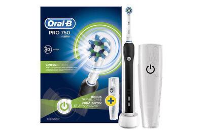 Braun Oral-B Pro 750 Cross Action Elektrische Zahnbürste