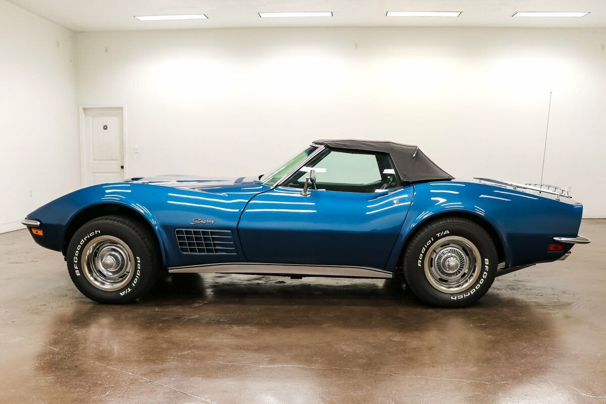 1970 Blue Chevrolet Corvette Stingray  | C3 Corvette Photo 6