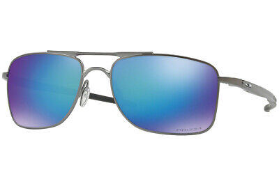 Oakley Sunglasses Gauge 8 L Mat Gunmetal Prizam Sapphire Polarized  OO4124-06 62