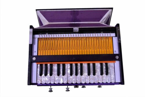 Musical High Class Sound Quality 4 Stopper Single Fold Bellow 30 Key Harmonium