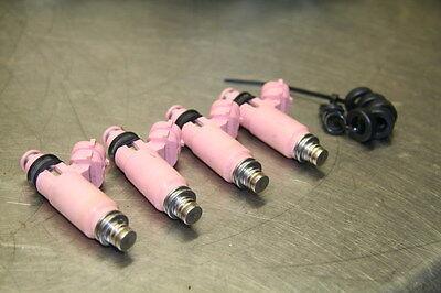 Subaru JDM STi 565CC Pink Fuel Injector (set of 4) Brand New 195500-3910 16611AA
