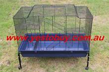 Double Platform Rabbit Bunny Hutch Ferret Cage Guinea Pig House Oakleigh Monash Area Preview