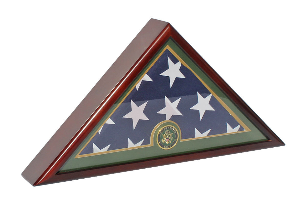 Army Funeral Burial Memorial Size 5'x9.5' Flag Display Ca...