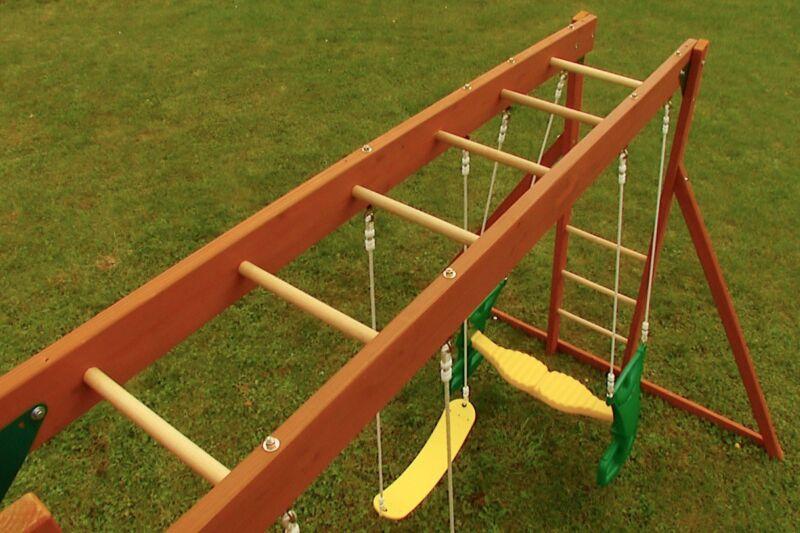 How To Build Monkey Bars EBay - Build monkey bars ladder