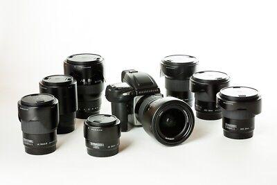 Hasselblad H5D-60 digital camera kit +8 lenses +extras – NEAR MINT CONDITION
