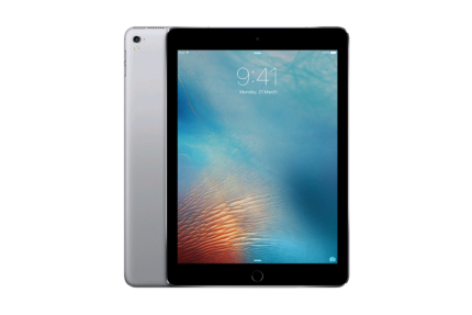 IPad Pro 9.7 (128GB, cellular and Wi-Fi, Space Grey)