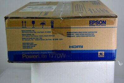 Epson PowerLite 1770W WXGA Portable Projector (NJL017941)