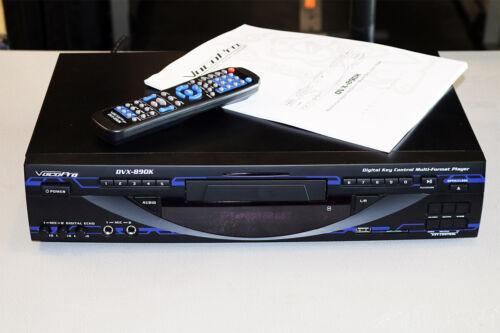 VocoPro DVX890K DVD Multi-Format Karaoke Player