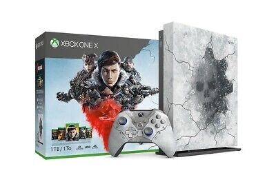 Xbox One X 1TB Gears 5 Limited + Gears of war 5 X1 FRENCH NEW DISPATCH BY 2 P.M.