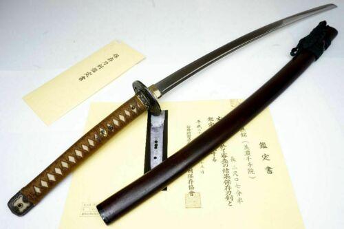 "Katana sword Mino-Senjuin 美濃千手院"" in Koshirae NBTHK HOZON"