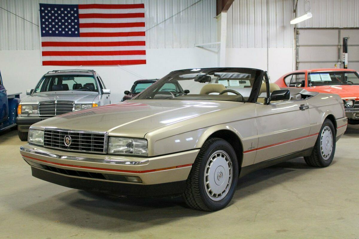 1992 Cadillac Allante  24245 Miles Tan Convertible 4.5L V8 4-Speed Automatic