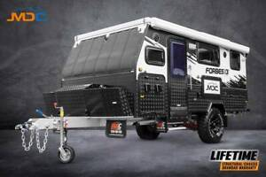 MDC FORBES 13 PLUS HYBRID POP TOP OFFROAD CARAVAN - From $223/week* Campbellfield Hume Area Preview