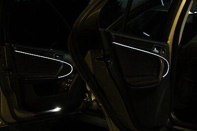 Mercedes W203 C-Klasse EL Ambiente Lichtleisten Ambientebeleuchtung Weiß LED
