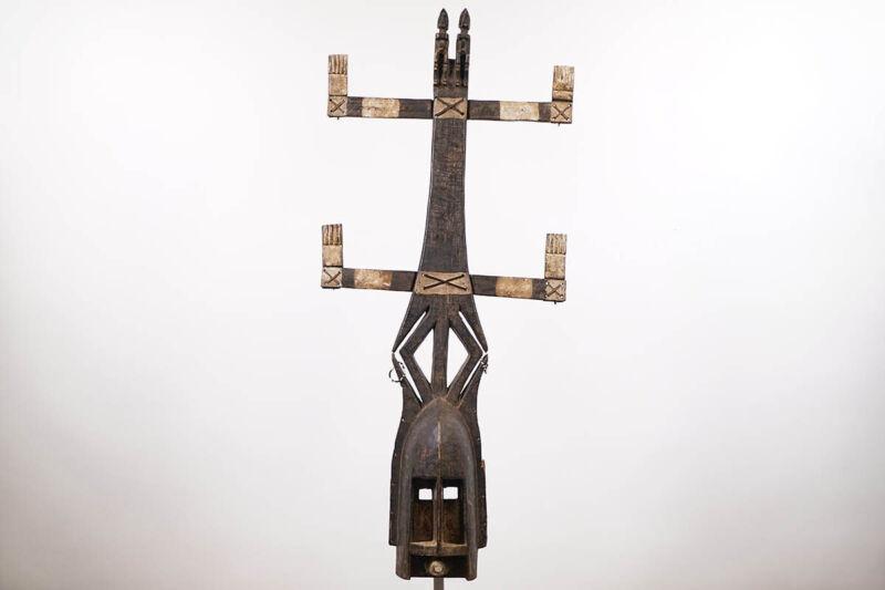 """Beautiful Dogon Kanaga Mask 45"""" - Mali - African Art*"""