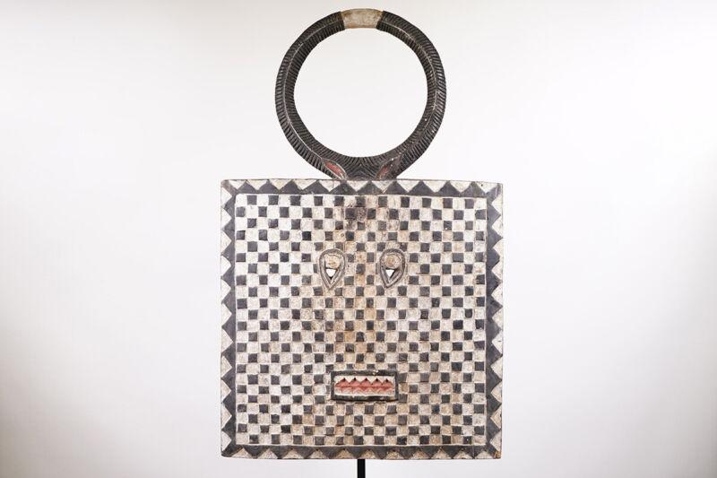 """Large Baule Goli African Mask 44.5"""" - Ivory Coast"""
