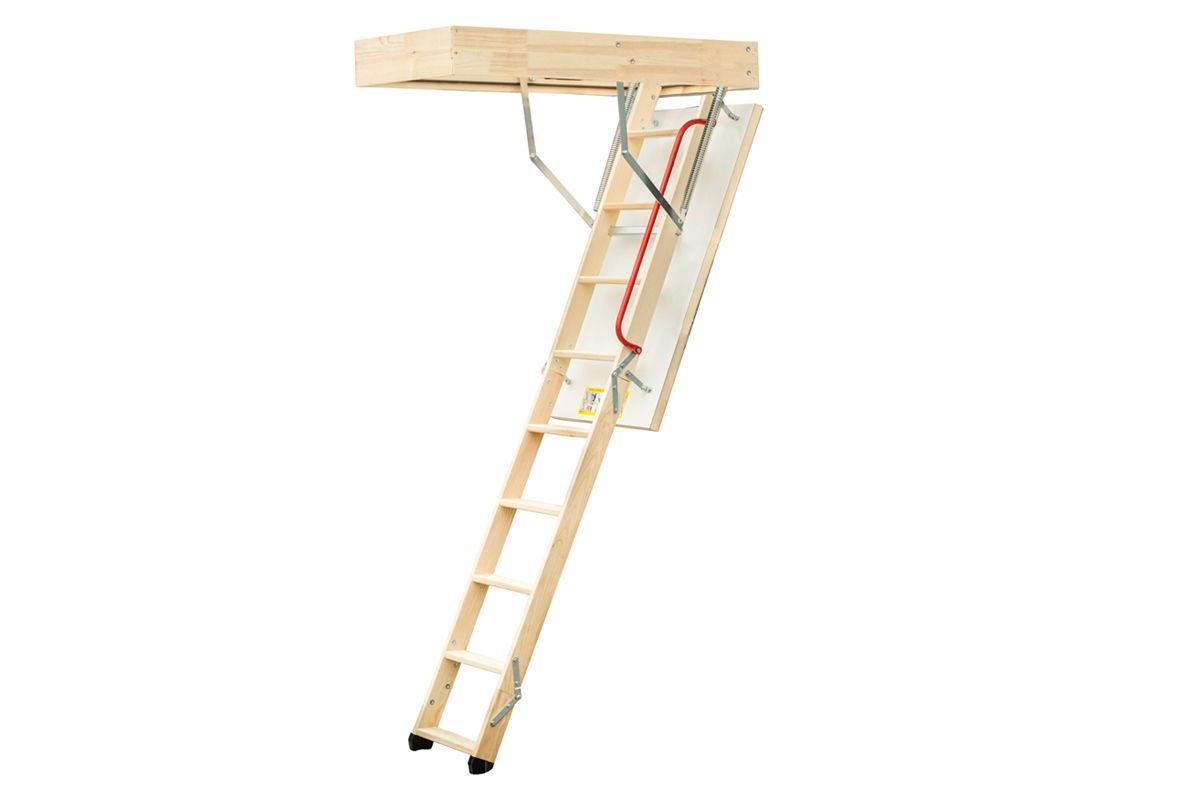 Wooden Timber Folding Loft Ladder Amp Hatch Attic Stairs