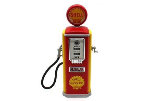 """1950 Shell """"Tokheim"""" (1:25) Gas Pump Diecast Bank, Gearbox Collectibles (#66003)"""