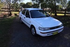 1998 Toyota Corolla Sedan Waverton North Sydney Area Preview