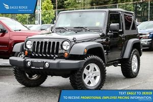 2013 Jeep Wrangler Sport Satellite Radio and Air Conditioning
