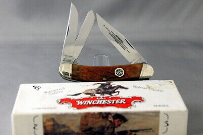 WINCHESTER 39049 30-30 Cartridge Whittler, Bone Handles, 1995, Box, Exc Knife