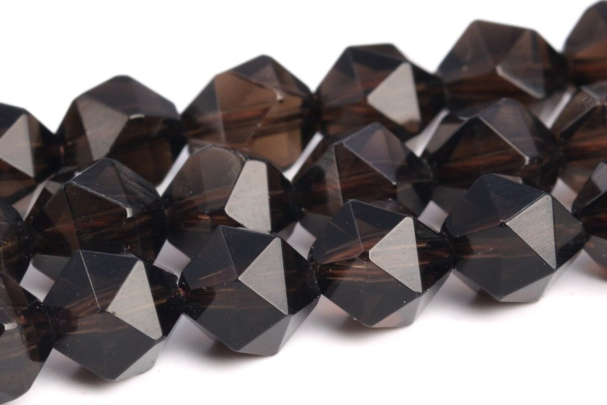 "7-8MM Dragon Blood Jasper Star Cut Faceted Grade AAA Natural Loose Beads 15.5/"""