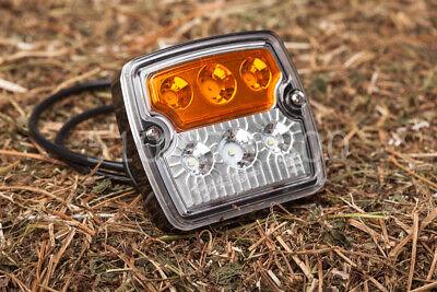 LED Blink Positionsleuchte Traktor Schlepper Positionslicht Blinklicht ()