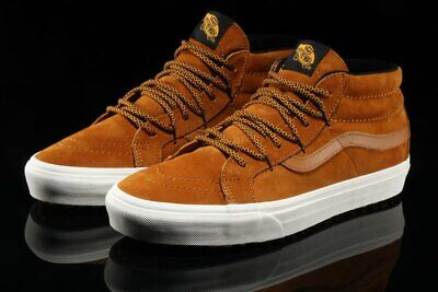 33c0fe63bf580c Vans SK8 Hi Mid Reissue MTE Sudan Brown Men s Classic Skate Shoes Size 10