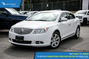 2012 Buick LaCrosse Convenience Group Heated Seats and Backup...