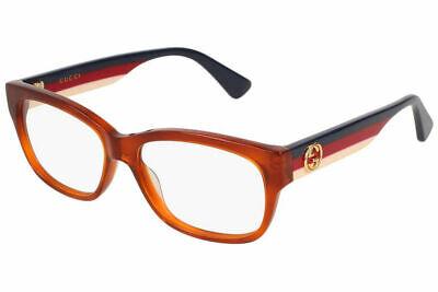 Gucci Eyeglasses GG0278O 003 Havana Brown Women's Optical Frame (Gucci Plastic Frames)