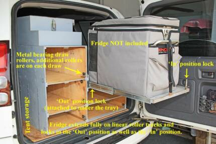 4WD Kitchen, Storage Boxes, Roof Rack, Luggage Pod and Tarp
