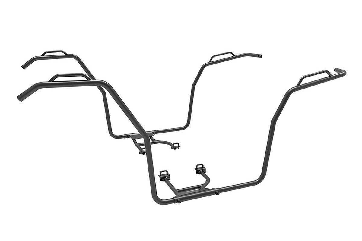 Quadzilla CFMOTO LWB CFORCE Terrain 500 Facelift Side