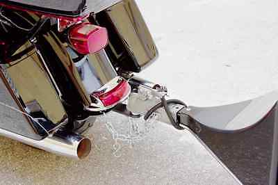 Hidden Harley Trailer Hitch H10-120 with Removable Tow Bar and Ball