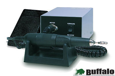 Buffalo Magic Wand Electric HP System Silver 120V AC 35,000 RPM