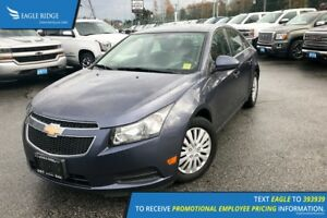 2013 Chevrolet Cruze LT Turbo Hands Free Calling, Heated Mirr...