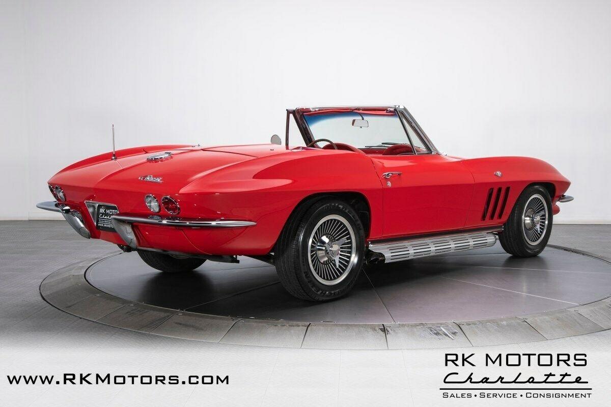 1965 Red Chevrolet Corvette   | C2 Corvette Photo 2
