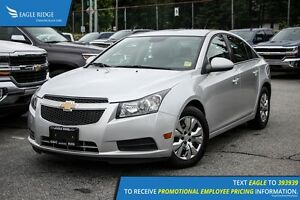 2013 Chevrolet Cruze LT Turbo Satellite Radio and Backup Camera