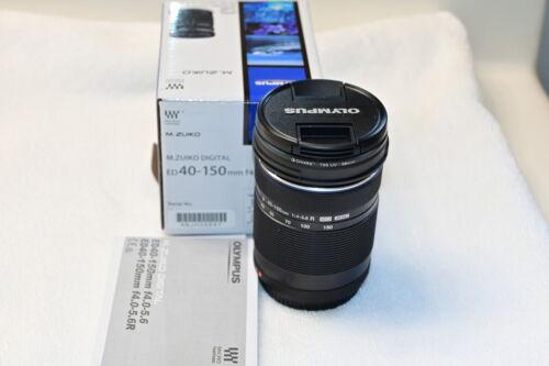 Olympus M.Zuiko 40-150mm f/4.0-5.6 Zoom Lens - Black Open Box.  Pristine!!
