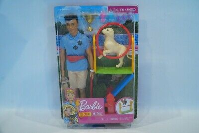 BARBIE KEN DOLL DOG TRAINER PLAYSET YOU CAN BE ANYTHING BRAND NEW FREE SHIPPING