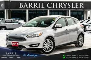 2017 Ford Focus ***TITANIUM PACKAGE***POWER SUNROOF/MOONROOF***N