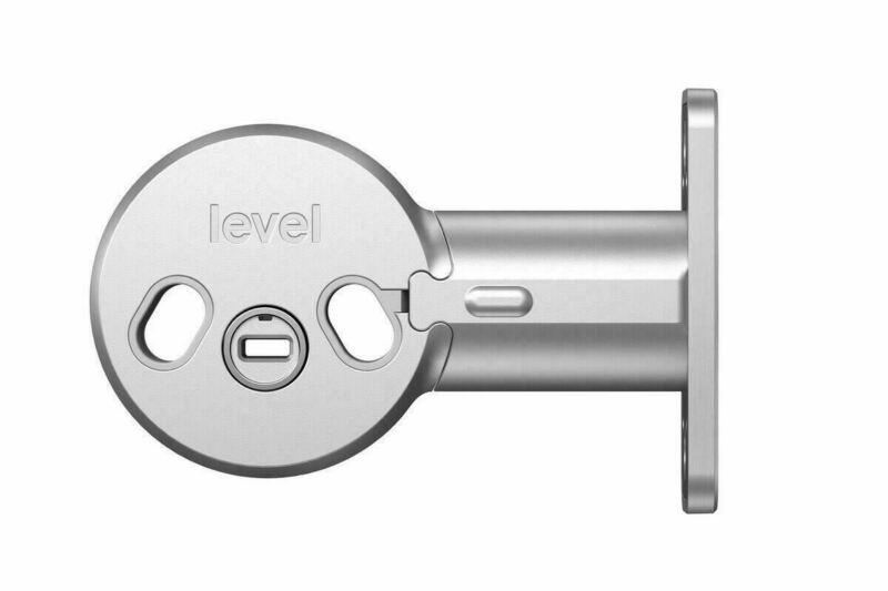 Level Lock Bolt C-D11U Invisible Retrofit Smart Door Lock w/ Adjustable Backset