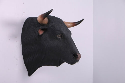 Spanish Fighting Bull Head